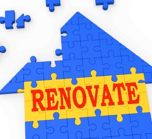 Renovate House Meaning Improve And Construct Building